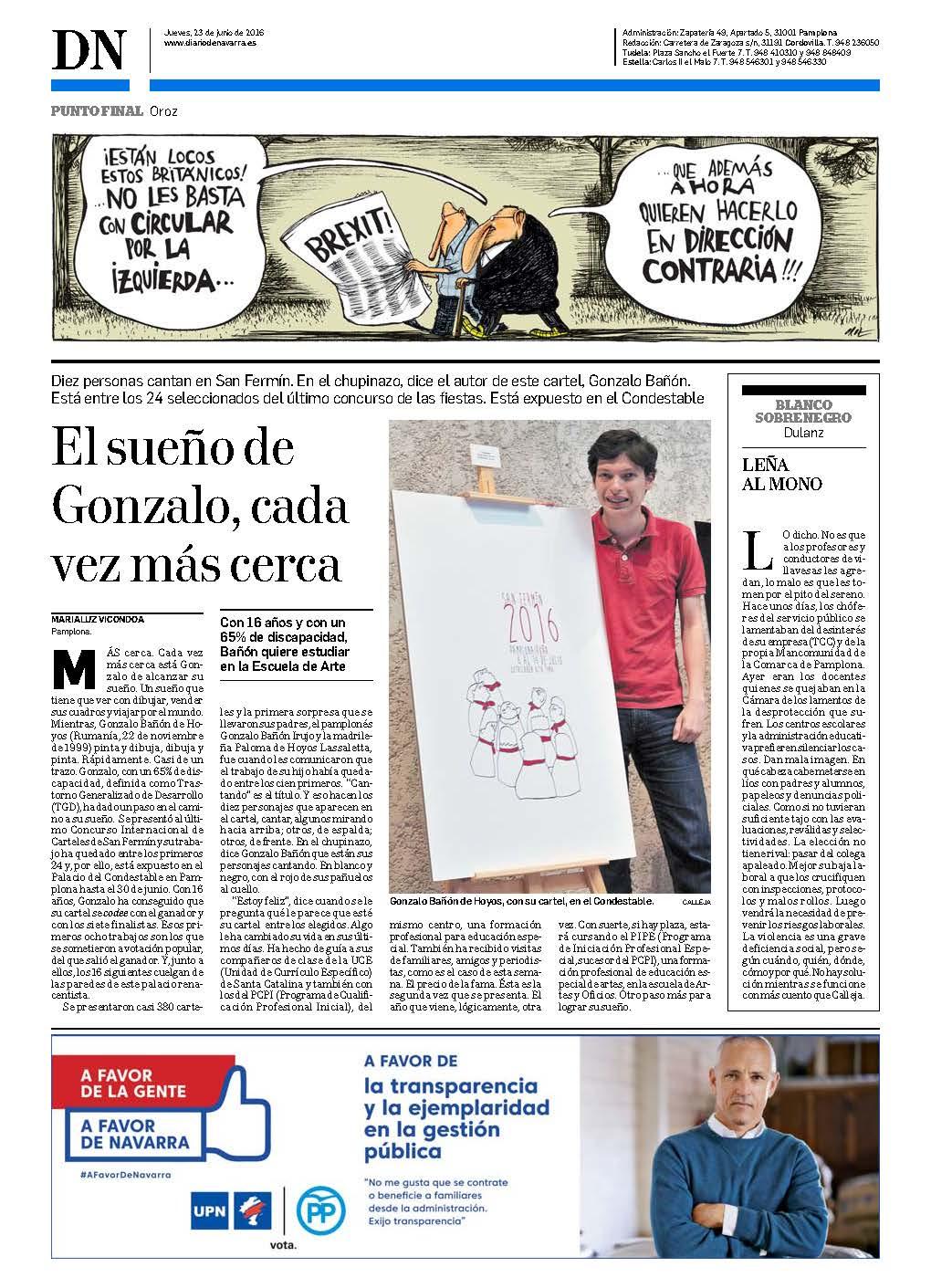 20160623 - Diario de Navarra - Última - pag 88-1
