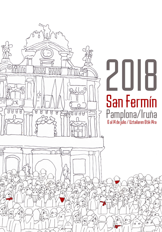 Cartel San Fermín 2018